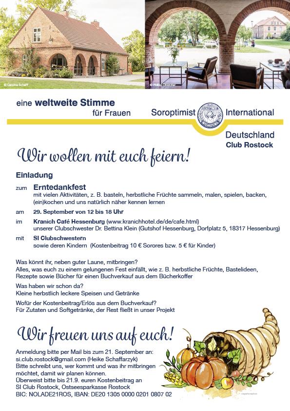 Si Club Rostock Soroptimist International Deutschland Veranstaltungen